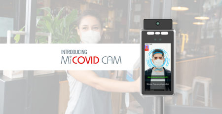 MiCOVID CAM Touchless Temperature Scanning